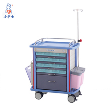 Eco- friendly easy clean hospital emergency trolleys