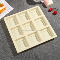 alibaba china customized disposable divided plastic food container / blister plastic packaging trays for cakes