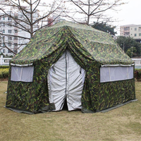 10 PERSON MILITARY TENT FOR ARMY,REFUGEE, RELIEF,DISASTER,EMERGENCY
