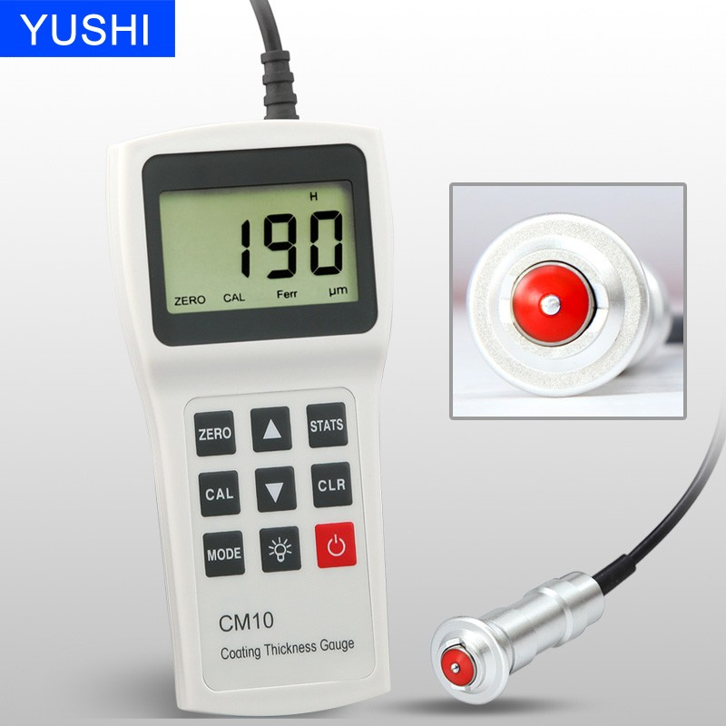 CM10F metal thickness gauge plating thickness measurement
