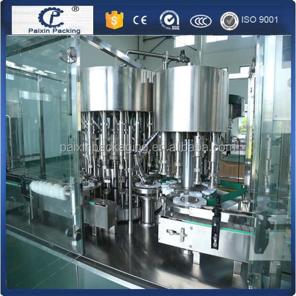 Efficient syrup tank glass bottle production line with full automatic