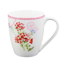 Low Price high grade porcelain Promotional milky White Coffee Mugs/AAA grade sublimation mug top quality