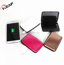 CE&ROHS power bank card holder,factory direct 2000mah safety polymer power bank