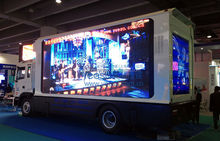 Look !!! Top Sale Large Version LED Media Van YES-V9 With Big and High Definition LED Display TV.