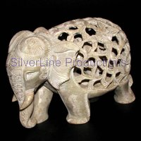 Soap stone animal figure