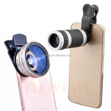 Hot sell Camera Lens Cover For Mobile Phone Mobile Camera Extra Lens 0.45X Wide Angle
