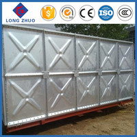 Galvanized Steel Water Tank/ Pressure Overhead Galvanized Steel Water Tank/ Storage Galvanized Steel Water Tank
