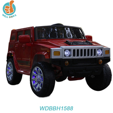 New toy cars electric 12v, double door open, 2.4g rc music and light mp3 tf port baby ride jeep style WDBBH1588