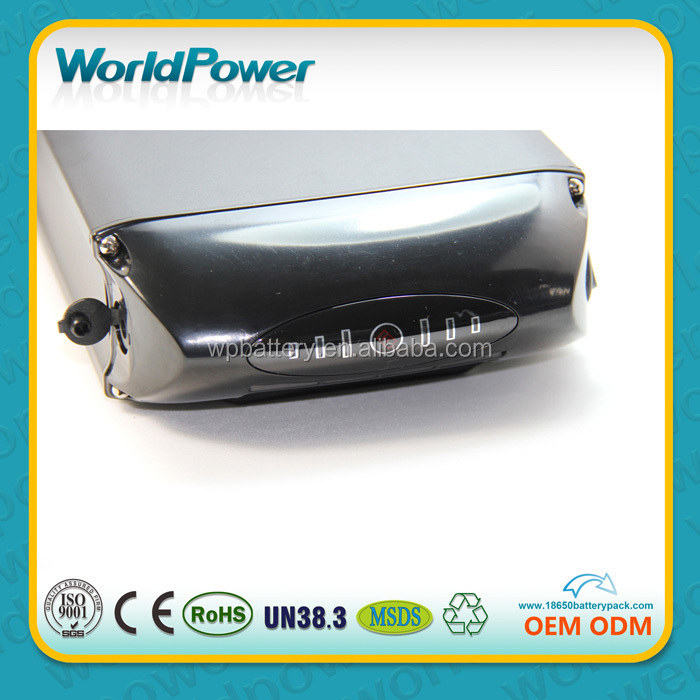 Electric bycicle battery 36v 17.4ah lithium battery pack