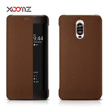 XOOMZ Vintage PU Leather Cross Pattern Smart Flip Case for Huawei Mate 9 Pro