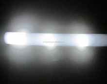 white glowing LED Foam Stick