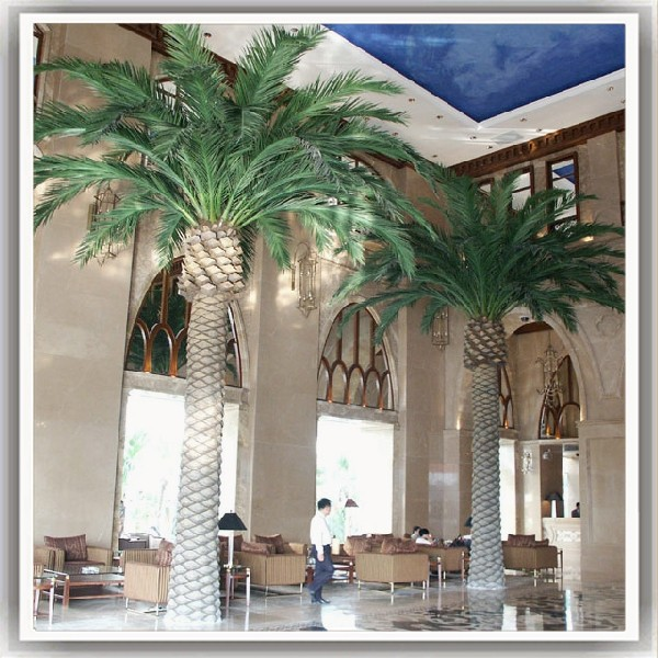 factory directly lifelike fiber optic palm trees palm dates decoration artificial mini palm treeson sale