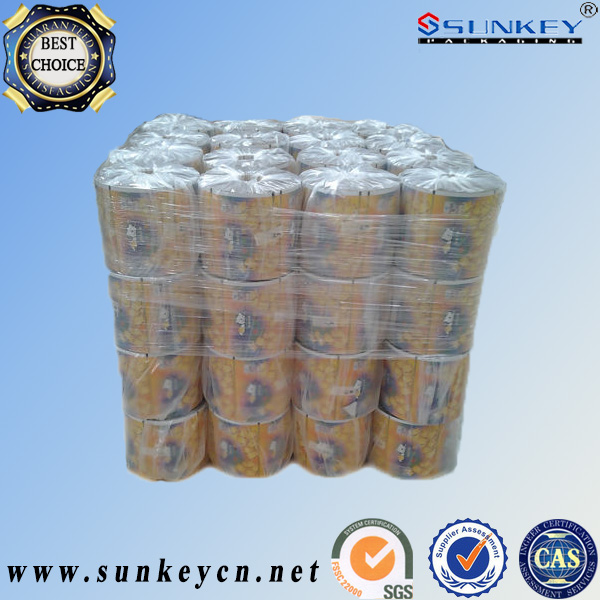 High barrier food packaging laminated tube films