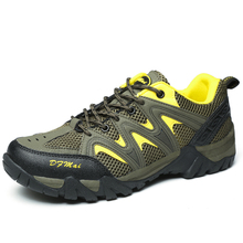 Sell like hot cakes Net face ventilation Wear-resistant and comfortable Hiking shoes for men
