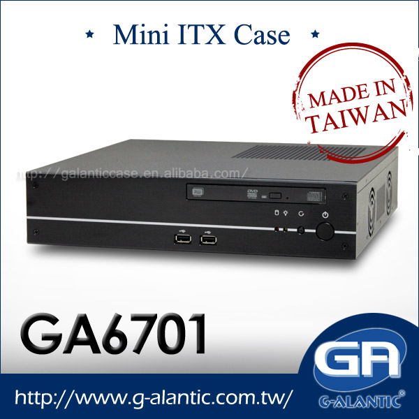 GA6701 - Mini ITX Gaming Case for Digital Signage Fit Intel 1155 4th Generation