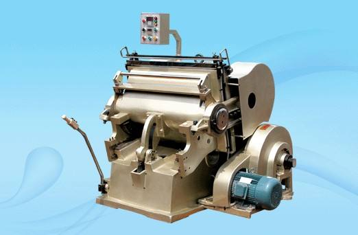 Flat pressing indentation tangent machine suitable for printing and packaging industry