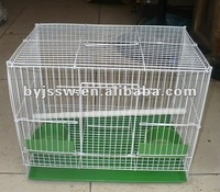 Fashionable stainless steel wire pet cage for birds