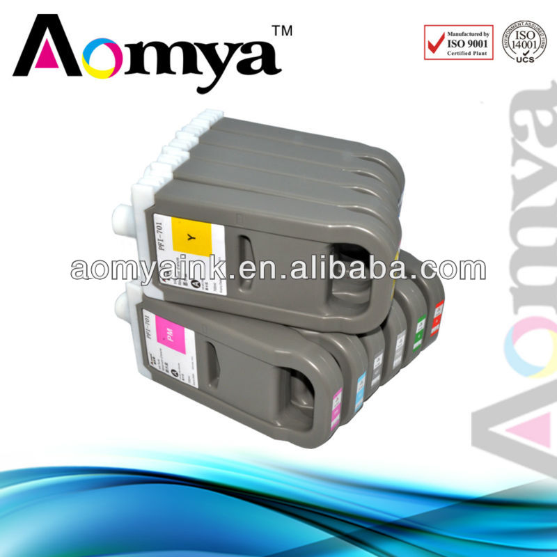 Aomya compatible for Canon IPF8300 ink cartridge PFI-704 with chip and ink