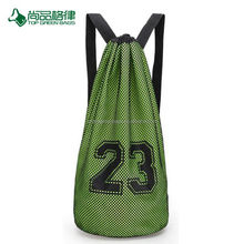 Custom large capacity basketball training rope drawstring bag/ backpack