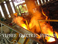2500KG induction electric smelting furnace for metal