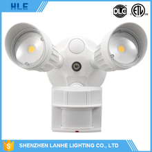 hot sale aluminum housing 10w 20w 30w outdoor led motion sensor hall light