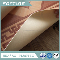 pvc sponge flooring with foam backing flooring good quality in home decorative