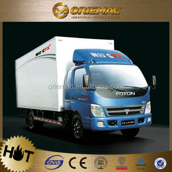 FOTON Ollin container 8 ton electric mini van for sale