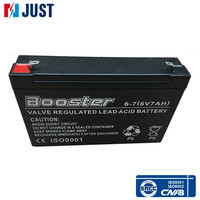 Factory supplier 6v 7ah ups agm battery for low price