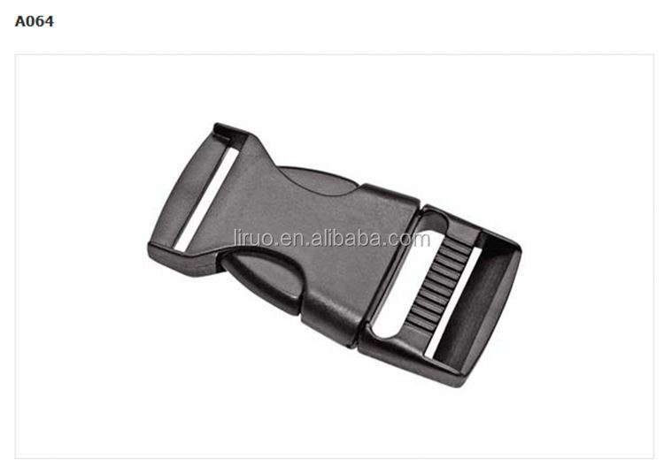 Factory sale durable 50mm side release plastic buckle in bag