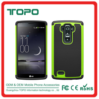 [TOPO] 2016 PC + Silicone+TPU Combo 3 in 1 combo footbal skin shockproof case For LG G FLEX2 LS996