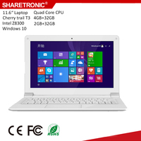 Smart Computer 11.6 inch Intel Cherrytrail Z8300 laptop computer price in China