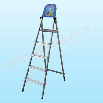household folding steel ladder 5 steps