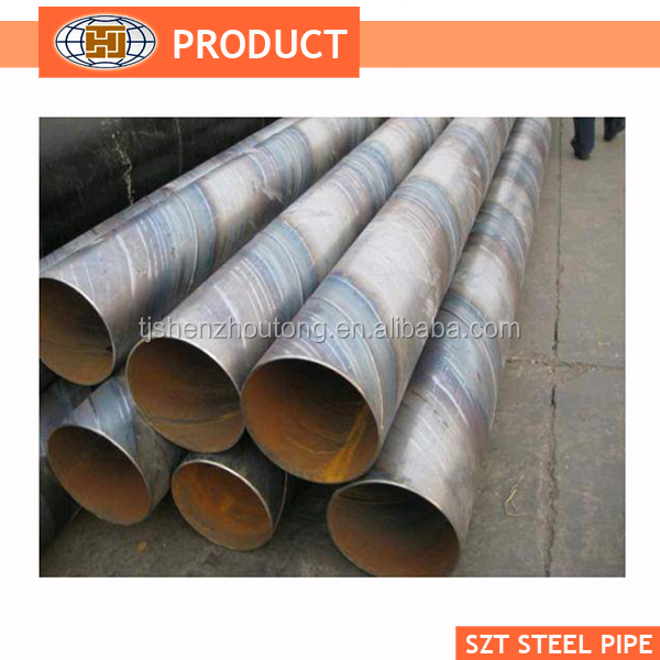 Carbon SSAW Spiral Welded Steel Pipe for Liquid Service,270-2500mm Diameter ,Q235B, Q345B,SS400,ASTM A36