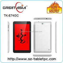 Great Asia high quality 7 inch 2G GSM tablet pc cheap android 4.2 tablet pc for export