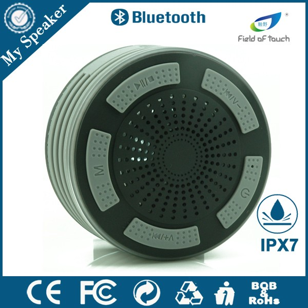 Latest innovative products FM radio outdoor speaker covers waterproof with Hand Free Function