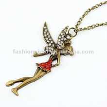 Korea fashion jewelry necklace-wizard angel