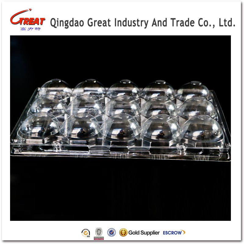 new design clear plastic packing tray dry fruit tray packaging for strawberry
