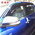 Car accessories car sun visor hilux window deflector wind deflector door rain deflector for hilux revo body kits