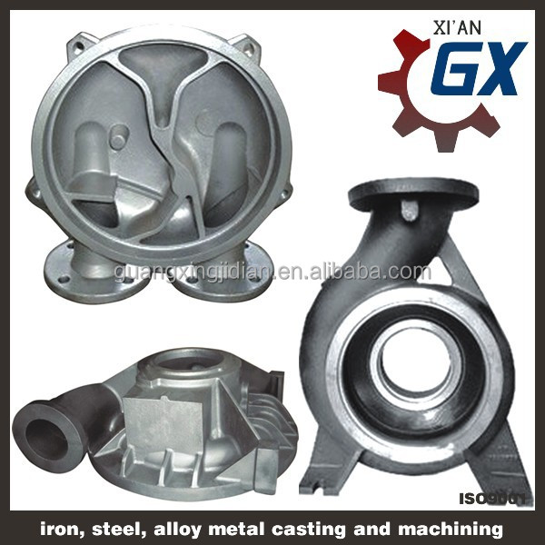 high-accuracy ductile iron / grey iron / stainless steel precision investment casting