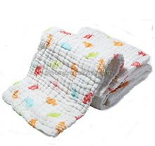 Lovely Candy Print-High Quality of Muslin Cotton Baby Bath Towels/Soft,Absorbent,Easy Washable and Dryable
