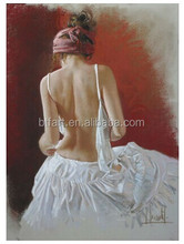 Handpainted Nude Female Body Painting oil painting on canvas