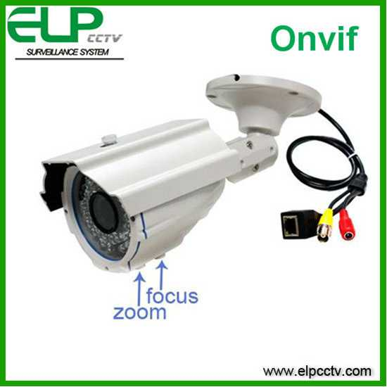ELP bullet onvif H. 264 HD cmos outdoor waterproof vandal-proof varifocal p2p ip security cam poe ELP-IP6200Z