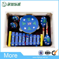 China wholesale wooden cartoon baby toy musical instruments