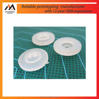 Factory good quality transparent silicon model rubber plastic vacuum casting in Suzhou