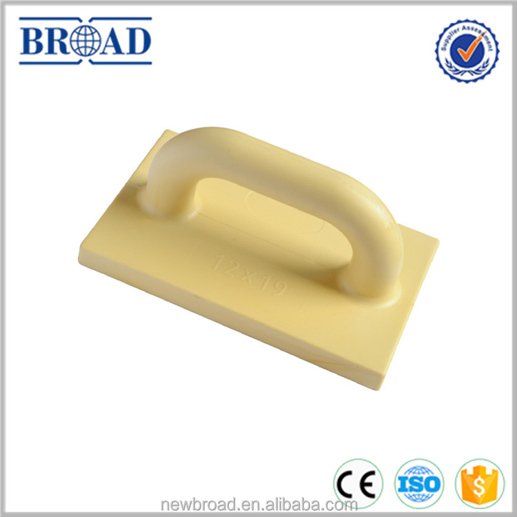 PU plastic float trowel