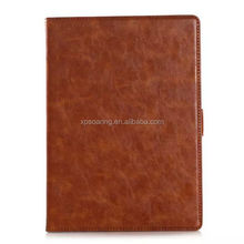 Popular stand leather case with card holder for ipad 6, tablet case for ipad 6