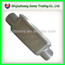 High Quality Malleable Iron Threaded Electric Conduit Body With Covers And Gaskets