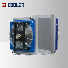 Air To Water Bar Plate Heat Exchanger With Fan