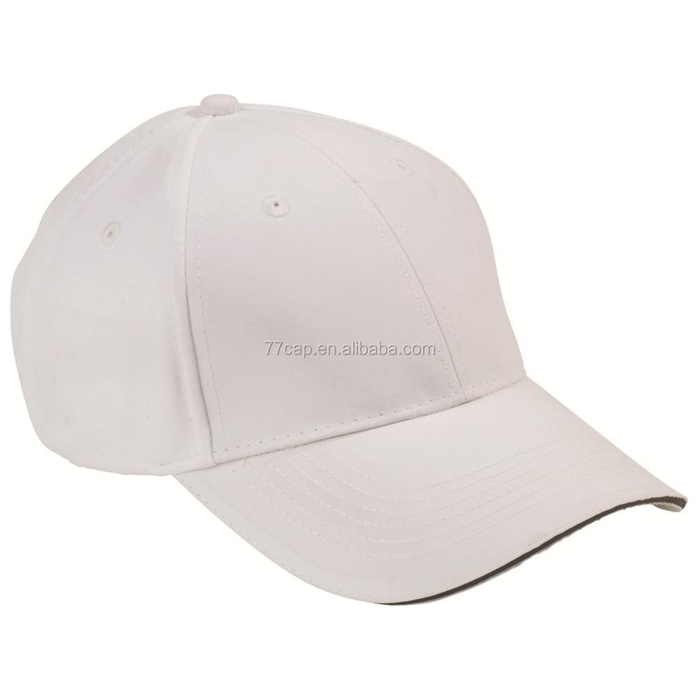 blank baseball cap with custom embroidery wholesale