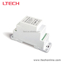LTECH New Din Rail DALI bus/dali dimming LED power supply 200ma power Bus Driver